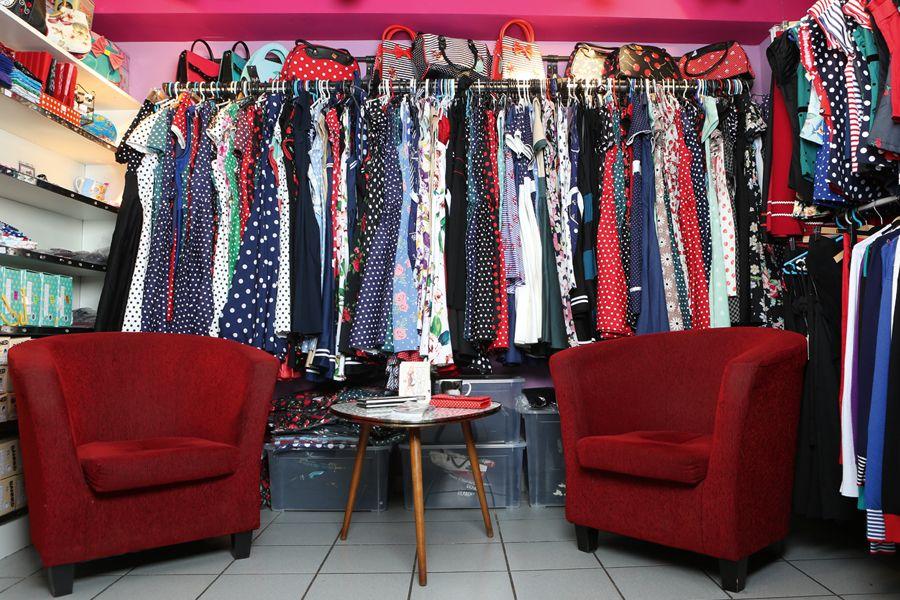Im Pünktchen-Paradies: Polkadot-Kleider in allen Größen und Farben