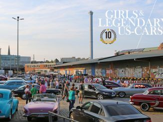 Girls & legendary US-Cars 2018 Kalender Releaseparty
