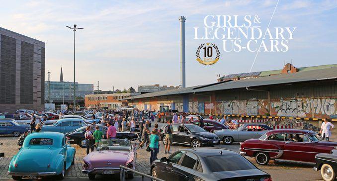 Girls & legendary US-Cars 2018 Kalender Releaseparty