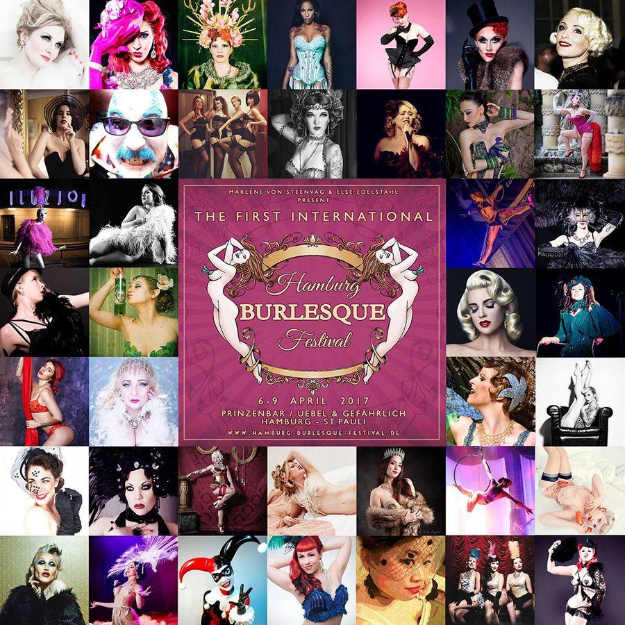 Das 1. Hamburg Burlesque-Festival