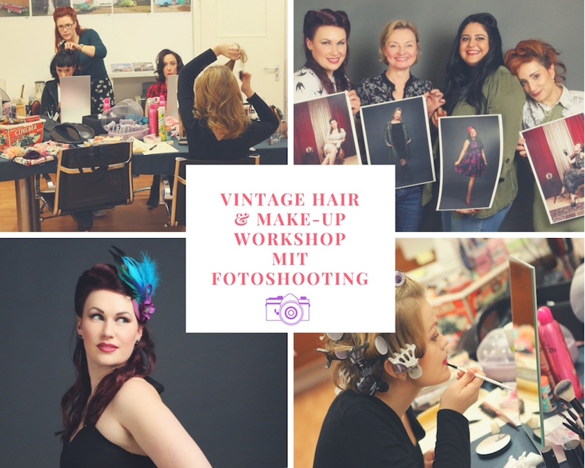Vintage Hair & Make-Up Workshops mit Fotoshooting