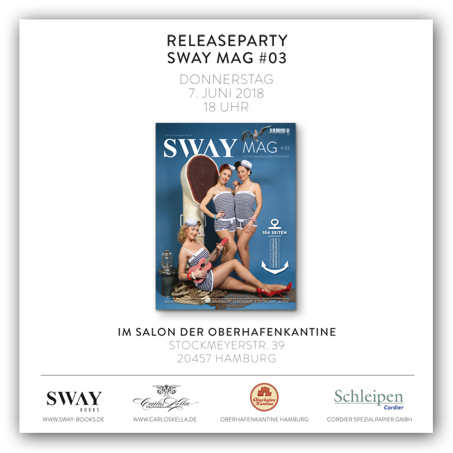 SWAY MAG #03 MAGAZIN-RELEASEPARTY