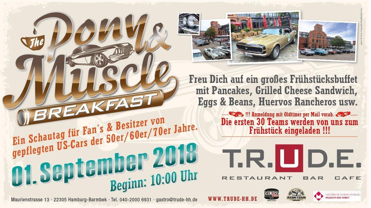 T.R.U.D.E PONY & MUSCLE CAR BREAKFAST