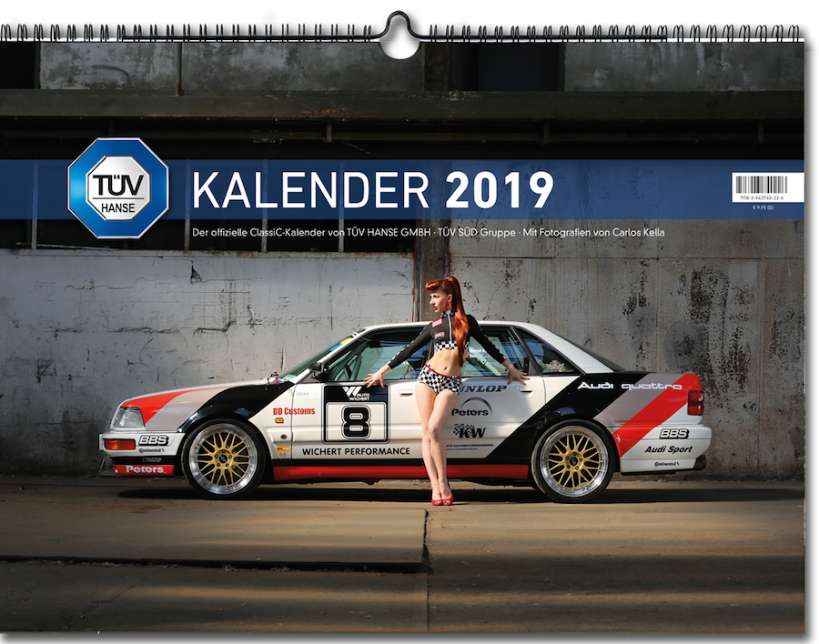 TÜV HANSE Classic Kalender 2019