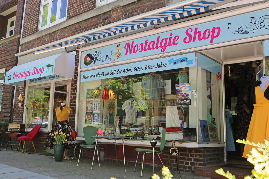 Das kleine, aber durchaus vielseitige Nostalgiekaufhaus in Hamburg-Dulsberg ist aus der Vintage-Szene nicht mehr wegzudenken.