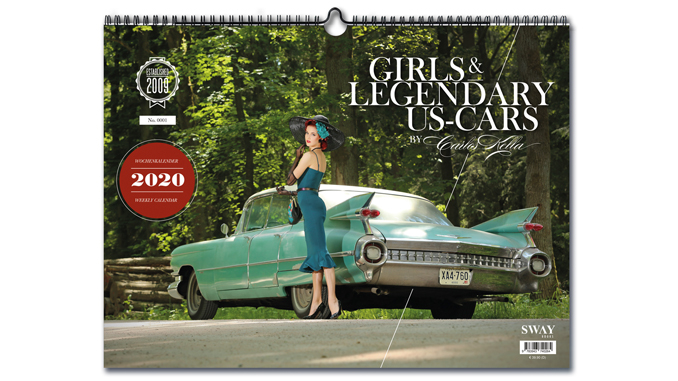 GIRLS & LEGENDARY US-CARS 2020 KALENDER