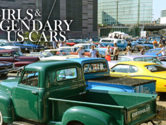 "Releaseparty ""Girls & legendary US-Cars"" 2021 Wochenkalender von Carlos Kella 