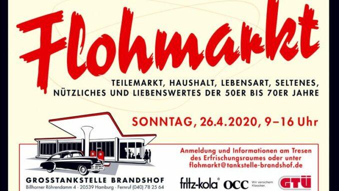 Der SWAY Books Verlag & Carlos Kella on Tour beim Flohmarkt im Frühjahr an der Oldtimertankstelle Brandshof am Sonntag, den 26.04.2020.