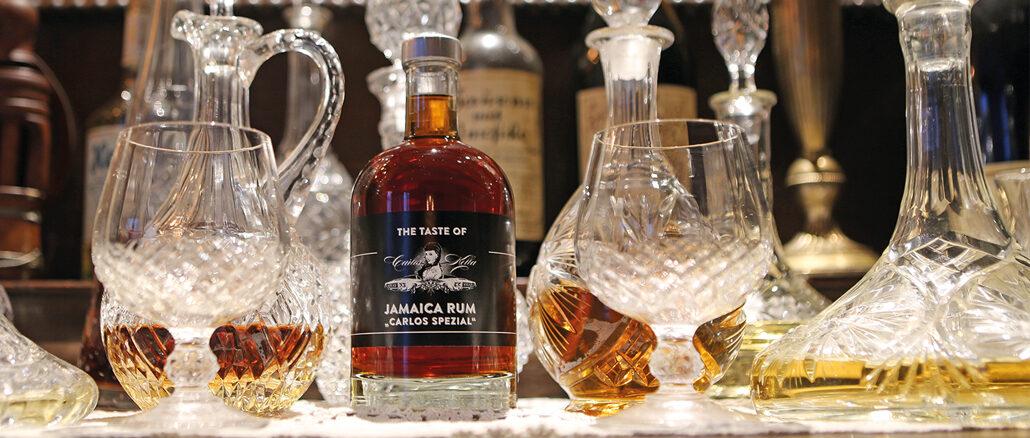 Rum Aus Hamburg: The Taste of Carlos Kella, der kräftige Jamaica Rum aus Hamburgs ältester Spirituosenmanufaktur.