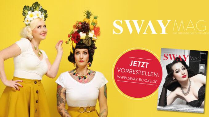 SWAY MAG #04, das vierte Magazin aus dem SWAY Books Verlag mit Fotos von Carlos Kella ist jetzt vorbestellabr!