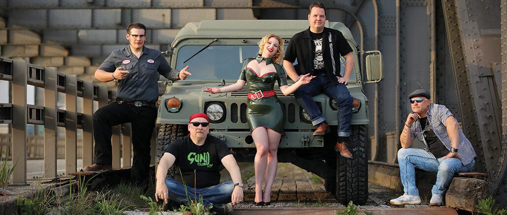 Die Chrome Hunters sind spezialisiert auf US-Cars, Muscle Cars, Traditional Hot Rods und fahren neuerdings auch auf Humvees ab.