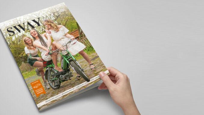 SWAY MAG #05, Das Magazin für Freunde des guten Geschmacks aus dem SWAY Books Verlag mit Fotos von Carlos Kella. SWAY MAG #05, Titelstory: Freiheit mit 25